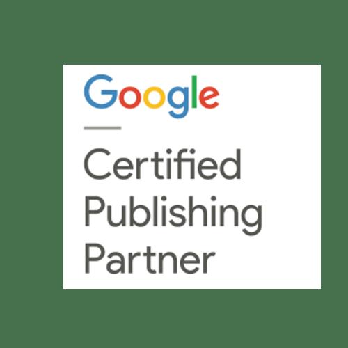Google Cerified Publishing Partner